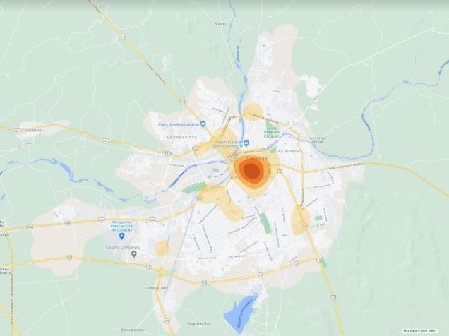Mapa Interactivo de Siniestros Viales – Culiacán, Diciembre 2020