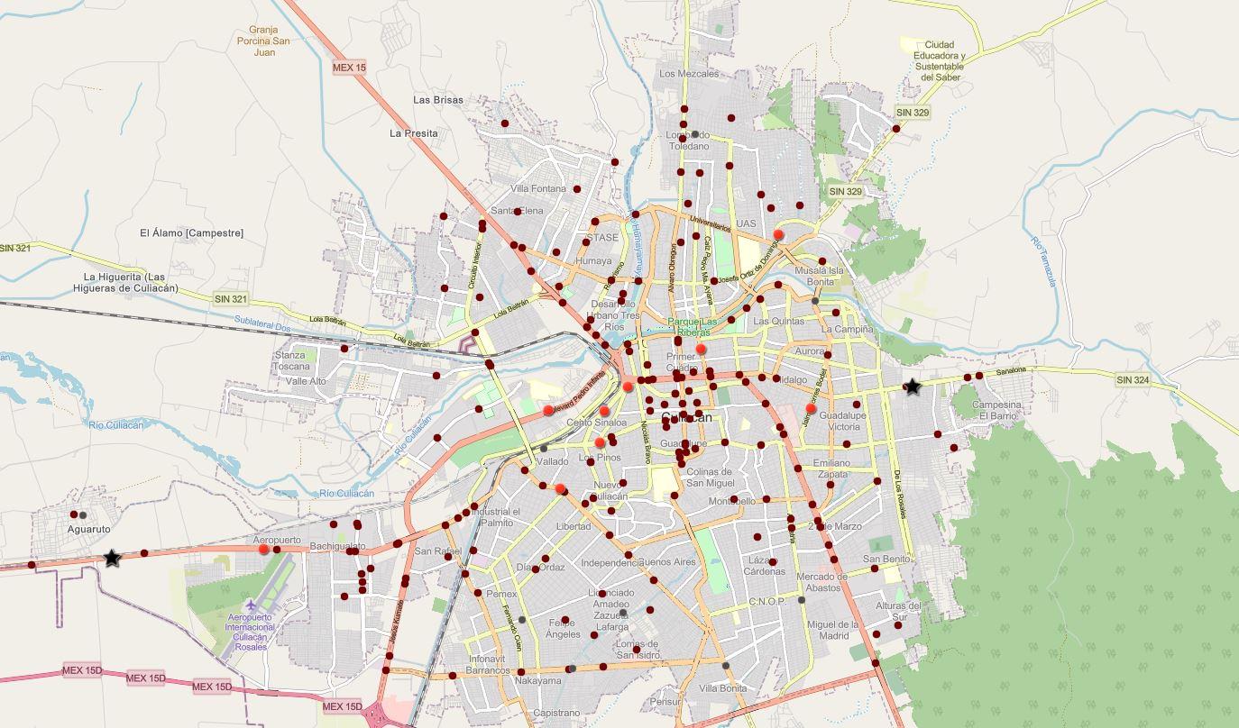 Mapa Interactivo de Siniestros Viales – Culiacán, Mayo 2021